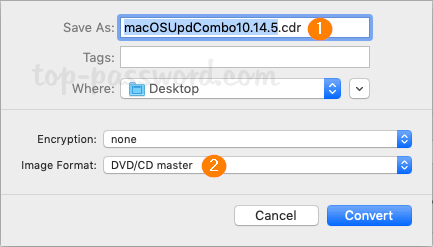 How to Convert Disk Image Between  DMG and  ISO Format on