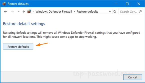 5 Ways to Reset Firewall Settings to Default in Windows 10