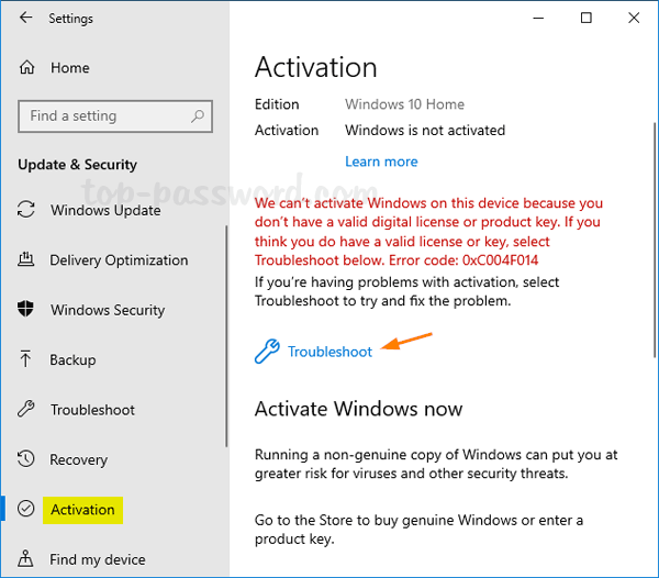 activation troubleshooter office 2016