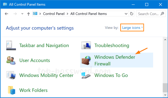 Delete Windows Firewall Rules | Password Recovery