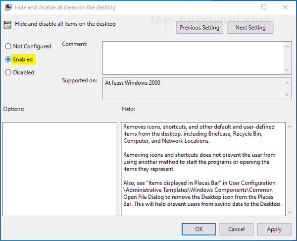 3 Methods to Hide All Desktop Icons in Windows 10 | Password