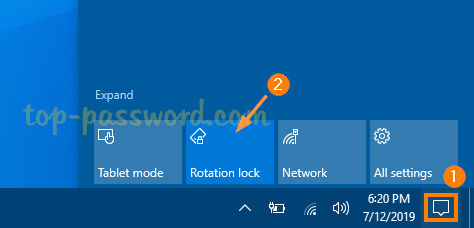 3 Ways to Disable Screen Auto-Rotation in Windows 10
