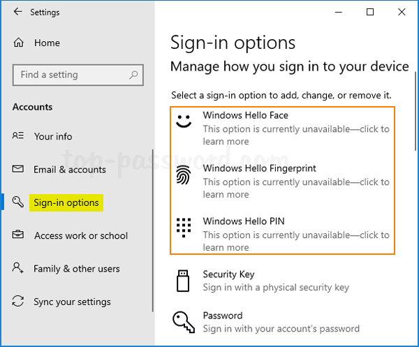 How to Disable Windows Hello PIN Setup in Windows 10 | Password Recovery