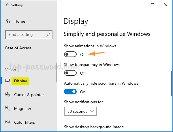 3 Ways to Turn off Visual Animations in Windows 10