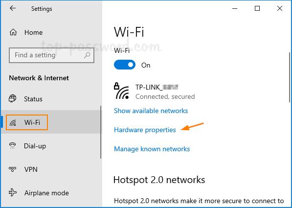 Các Bước Chuyển Sang Băng Tần WiFi 5GHz Trên Windows 10 - AN PHÁT