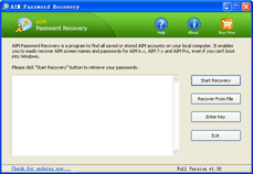 AIM Password Recovery 1.0