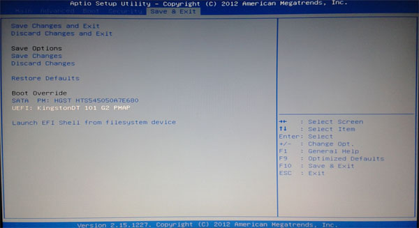 ssd laptop asus how to start computer after put in