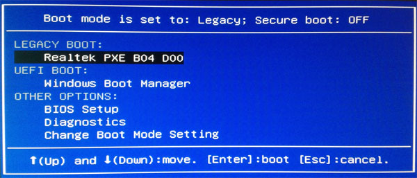 Windows Password Recovery Using PXE Network Boot - without CD and