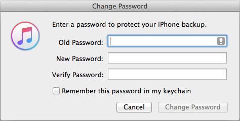 2 Ways to Recover iTunes Backup Password on Mac OS X