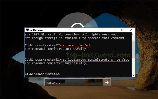 How to bypass Windows 10/8/7/Vista/XP password without