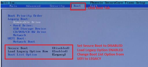 Dell Recovery Usb