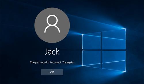 Lost Password For Windows 10 Help