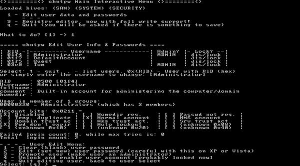 Reset Forgotten Windows 10 Password with Hiren's BootCD