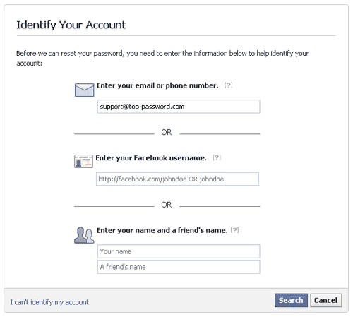 Forgot Facebook password - How to Hack Facebook Password?