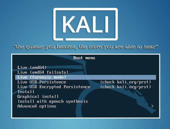 How to Reset Windows 10 Local Password with Kali Linux Live USB