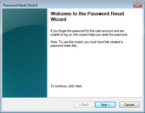 Windows Password Reset Wizard