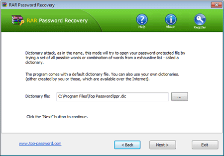 How to Recover RAR/WinRAR password with RAR Password Recovery Software