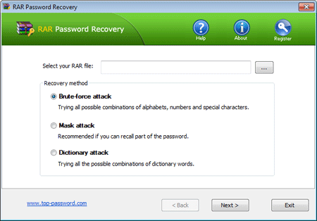 rar password recovery key download