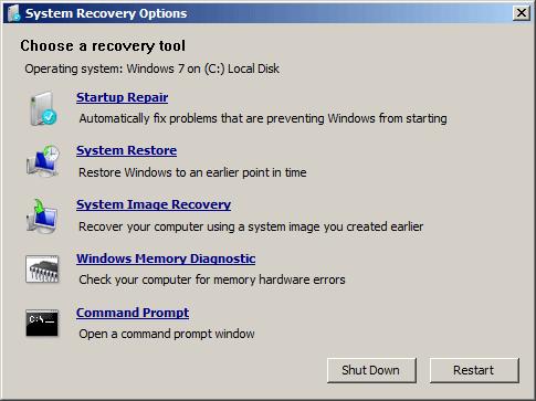 windows 7 screen password reset