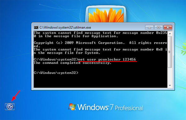 How to Reset Windows 7 Login Password Using Command Prompt