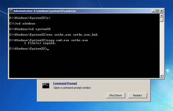 how to change windows 7 product key in command prompt
