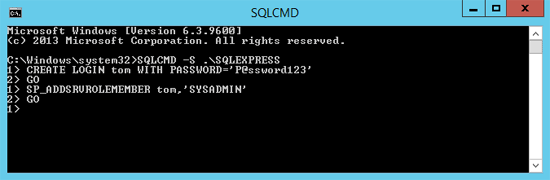 Create New Login in SQL Server Single-user Mode