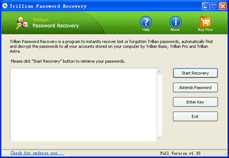 Click to view Trillian Password Recovery screenshots