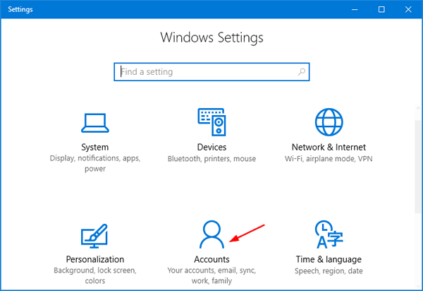 how to take my password off windows 10