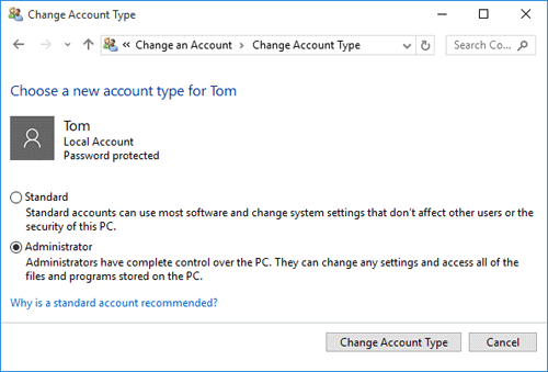 5 Ways to Change Standard User to Administrator in Windows