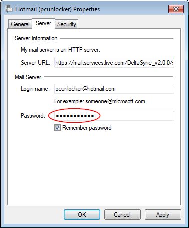 wlm msn messenger password finder