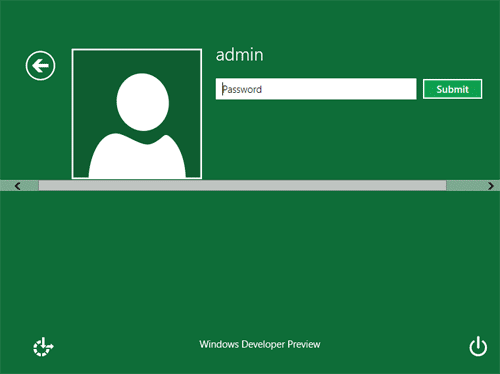 login into windows without password